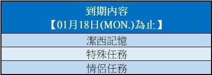 勁舞團M: 系統公告 - 《定期維護》01月19日(TUE.) 更新預告 image 4