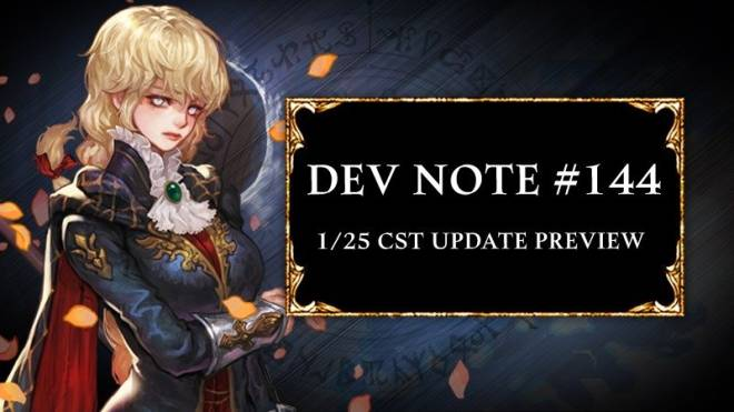 HEIR OF LIGHT: Dev Notes - [Notice] Dev Note #144: 1/25 CST Update Preview image 1