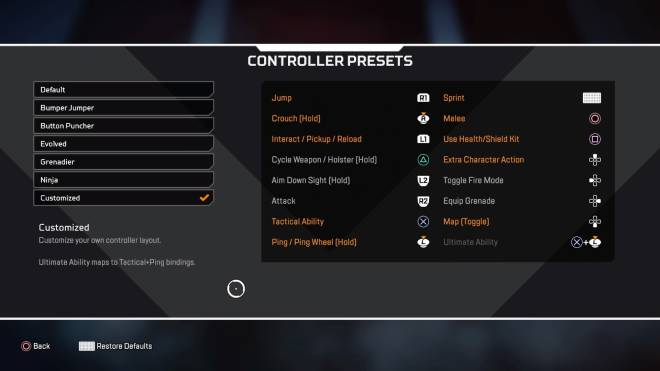 Apex Legends: General - Scuffed controls 🥸, changed my controls best decision I've made image 1