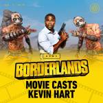 Kevin heart playing Roland in the upcoming Borderlands Movie