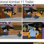 The beat meme in MORTAL KOMBAT 11 HISTORY