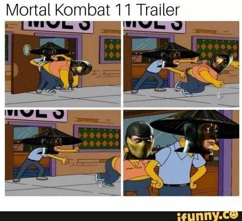 Mortal Kombat: Memes - The beat meme in MORTAL KOMBAT 11 HISTORY image 1
