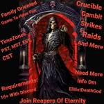 Ps4 You Looking to join a clan? Crucible, gambit, raids? Join Reapers Of Eternity (looking for activ