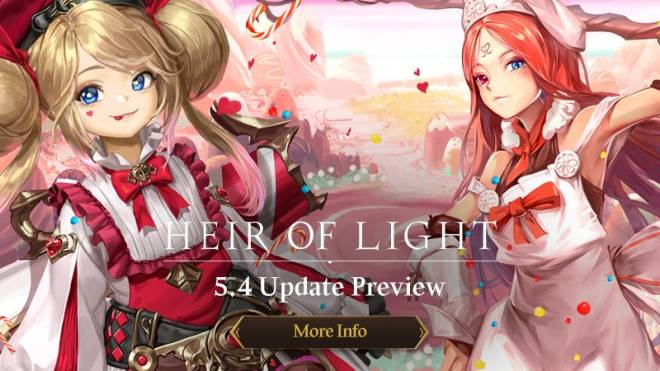 HEIR OF LIGHT: Update Preview & Patch Notes - [Notice] 5.4 Update Preview image 1