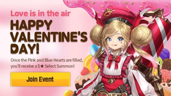HEIR OF LIGHT: Event - [Event] Happy Valentine's Day Event (2/9 ~ 3/8 CST) image 1