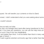 Important: Moot To Be Removed From App Stores As Early As Today, FAQs From CS Manager