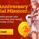 [Event] 3rd Anniversary Special Mission (3/5 ~ 4/5 CST)