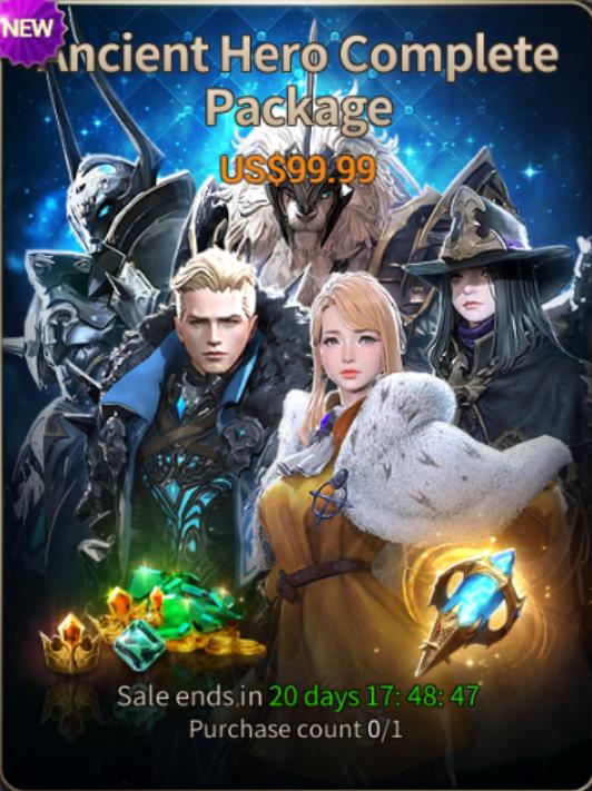 Hundred Soul : The Last Savior: event - [Notice] Ancient Hero Skin update image 2