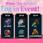 [Event] White Day Special Log In Event (3/11 ~ 3/15 CST)