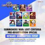 [Event] Summoners War: Lost Centuria Pre-Reg Coupon Event