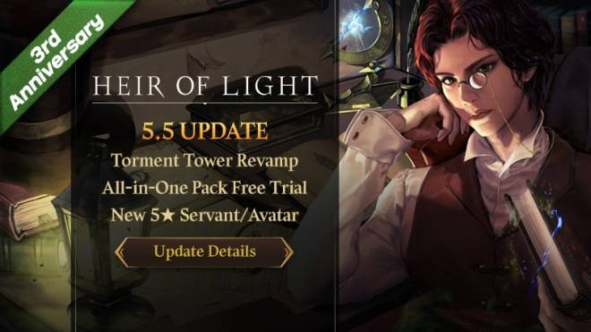 HEIR OF LIGHT: Update Preview & Patch Notes - [Notice] 5.5 Update Patch Note image 1