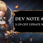 Dev Note #148: 3/29 CDT Update Notice