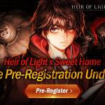 [Notice] Heir of Light x Sweet Home Collaboration Pre-registration Notice (4/5 ~ Until 5.6  Update)