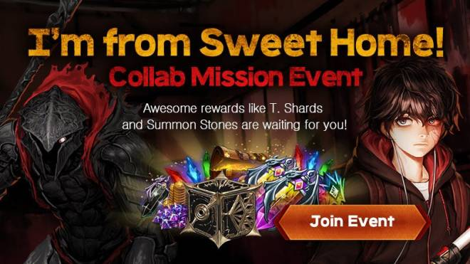 HEIR OF LIGHT: Event - [Event] I'm from Sweet Home! Collab Mission Event (4/5 ~ 5/3 23:59 CDT) image 1