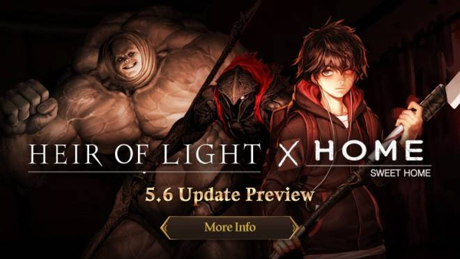 HEIR OF LIGHT: Announcement - [Notice] 5.6 Update Preview image 1