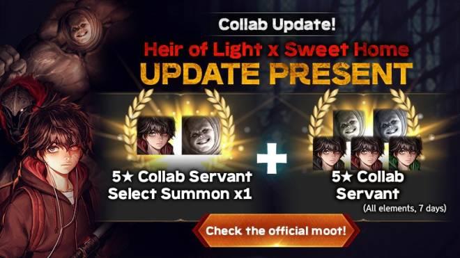 HEIR OF LIGHT: Event - [Event] 5.6 Update Present (After 5.6 Update ~ Next Update) image 1