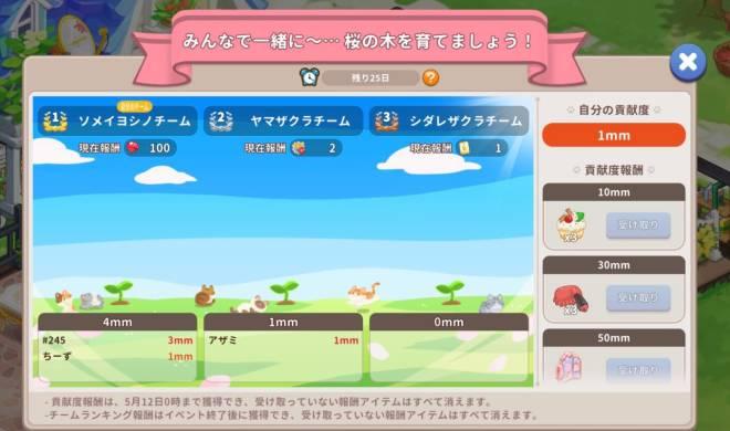 ごろごろこねこ: イベント - 【イベント】「桜の木イベント」開催 image 13