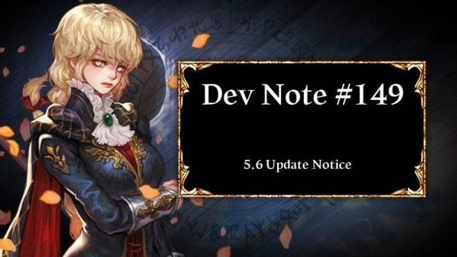 HEIR OF LIGHT: Dev Notes - Dev Note #149: 5.6 Update Notice image 1