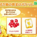 【イベント】招き猫の黄金のポケット販売のお知らせ