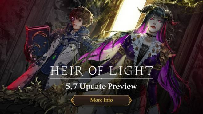 HEIR OF LIGHT: Update Preview & Patch Notes - [Notice] 5.7 Update Preview image 1