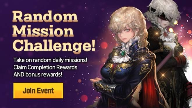 HEIR OF LIGHT: Event - [Event] Random Mission Challenge Event (5/11 ~ 6/7 CDT) image 1