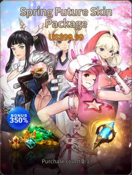 Hundred Soul : The Last Savior: event - [Event Notice] Spring Future Skin Update image 3