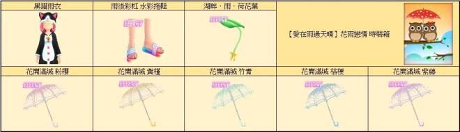 勁舞團M: 商品介紹 - 《限時禮包》為妳遮風擋雨☂陪你迎接美麗彩虹 image 8