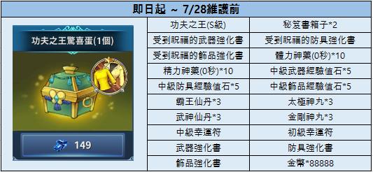 新熱血江湖M: 公告 - 07/14(三) 商城上架公告  image 5