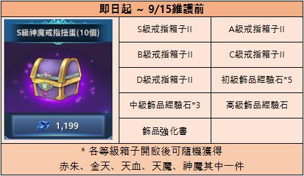 新熱血江湖M: 公告 - 08/25(三) 商城上架公告 image 5