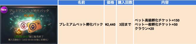 Hundred Soul (JPN): Notice - 【お知らせ】新ペット追加 / 出現率増加ペット孵化 / 伝説ペット孵化の粉交換 / プレミアムペット孵化パック販売 image 6